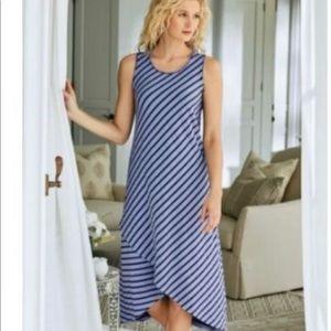 Soft Surroundings sleeveless tank dress large
